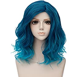 Fashion Blue Ombre Wig