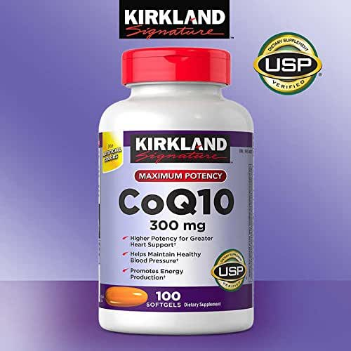 Kirkland Signature Expect More CoQ10 300 mg, 100 Softgels