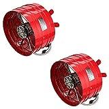 Quietcool Smart Energy Efficient Attic 3013 CFM Gable Fan w/Built in Thermostat