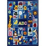 Fun Rugs FT-95 3958 Fun Time Letters and Names Rug