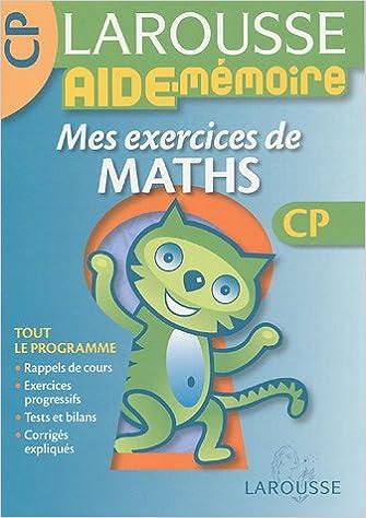 En ligne Mes exercices de maths CP pdf, epub ebook