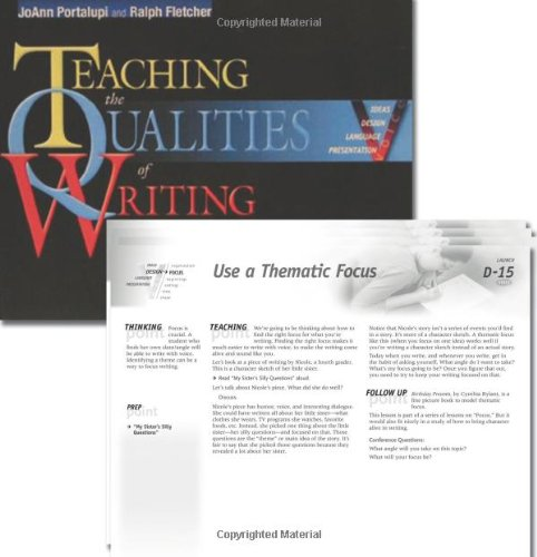 Top 10 teaching qualities of writing