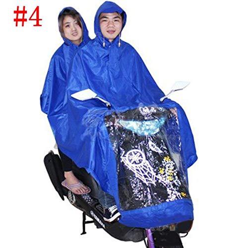 Automotive Motorcycle Electric Bike Rain Coat Single Or Double Suit - (Style: #04)