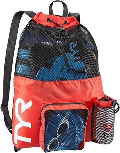 TYR Big Mesh Mummy Backpack, Red,