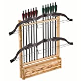 Triumph Sports USA 37-0039 Rush Creek Log Cabin Style Bow Rack