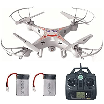 RC Drone with Camera for Beginners LAMASTON X5C-1 RC Helicopter Quadcopter Kit Toy 2.4G Remote Control Drone Airplane