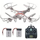 RC Drone with Camera for Beginners LAMASTON X5C-1 RC Helicopter Quadcopter Toy Kit 2.4G Remote Control Drone Airplane
