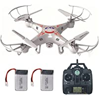 RC Drone with HD Camera, LAMASTON X5C-1 Remote Control Toy Helicopter, Quadcopter Drones for Kids with Headless Mode + 720P Camera + 4GB Memory Card + Bonus Battery