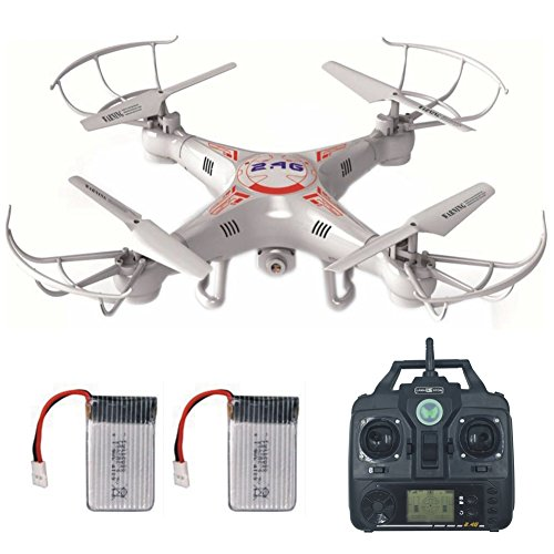 RC Drone With HD Camera LAMASTON X5C 1 Remote Control Toy Helicopter Quadcopter Drones For Kids Headless Mode 720P 4GB Memory Card Bonus