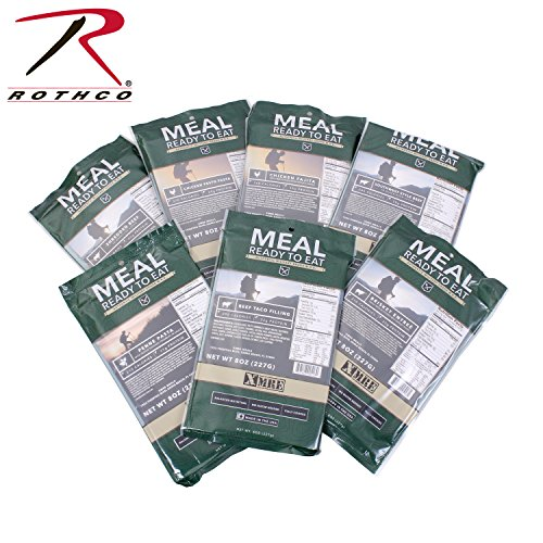 Mre Entrees (Rothco Xmre Main Entree Only, Penne Pasta with Veggie Sausage)