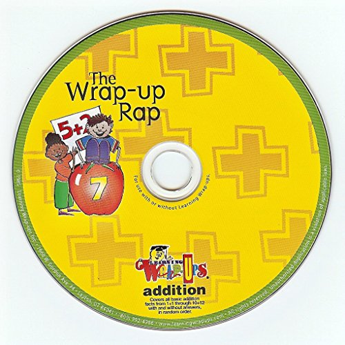 (Learning Wrap-ups Addition Rap CD - Audio Math Problems with Music)