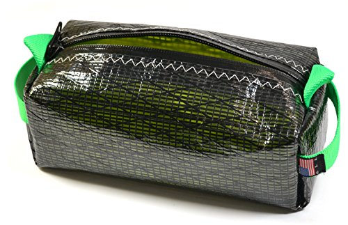 Sails N' Canvas Waterproof Extreme Dopp Kit (Toiletry Bag), 11''x5.5''x5'', Made of Carbon Fiber and Aramid Fibers - Racing Sail Material by Sails N' Canvas