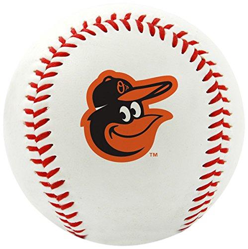 MLB Baltimore Orioles Team Logo Baseball, Official, White
