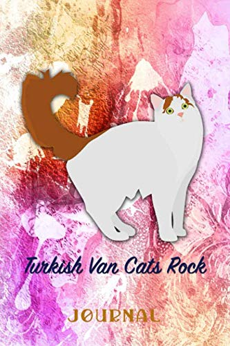 (Turkish Van Cats Rock: Pocket Gift Notebook for Cat and Kitty Lovers)