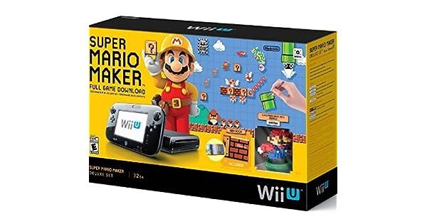 Super Mario Maker Console Deluxe Set - Nintendo Wii U by Nintendo: Amazon.es: Videojuegos