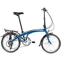 Dahon MU D10 Vélo Pliable Mixte Adulte, Dusty Blue, Taille 20