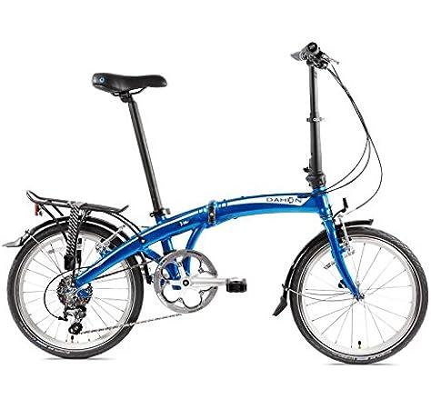 Dahon Mu D10 Bicicleta Plegable para Adulto, Dusty Blue, Talla 20 ...