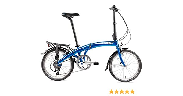 Dahon Mu D10 Bicicleta Plegable para Adulto, Dusty Blue, Talla 20 ...