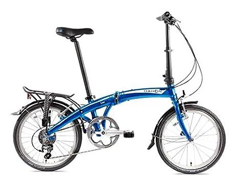 Dahon Bici Pieghevole.Dahon Mu D10 Bicicletta Pieghevole Unisex Adulto Dusty Blue