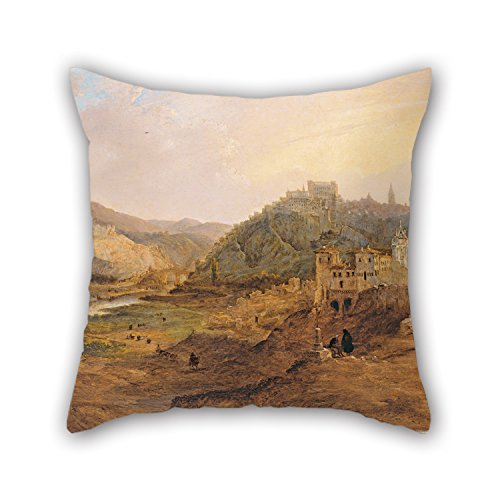 elegancebeauty-oil-painting-jenaro-pacrez-villaamil-general-view-of-toledo-from-the-cross-of-the-can
