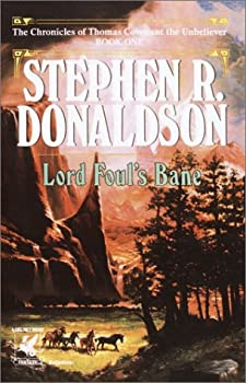 Lord Foul's Bane by Stephen Donaldson science fiction and fantasy book and audiobook reviews