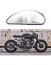 TARAZON 10L / 2,6 Gal Universal Tapa de depósito de combustible para Cafe Racer Moto