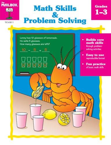 Math Skills & Problem Solving, Grades - Mailbox Math Book