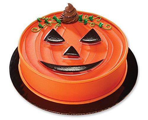 CakeDrake Pumpkin Face Creations Halloween-themed Cake Topper -