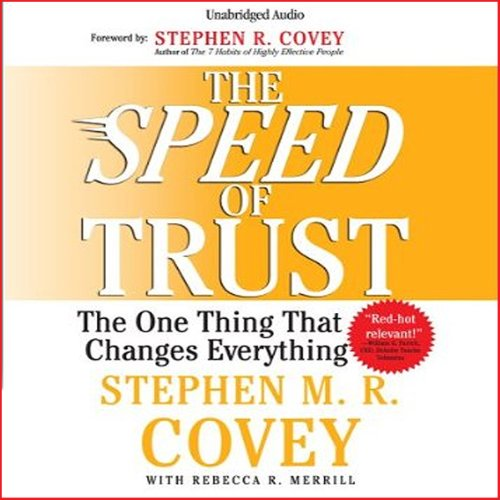 Pdf Self-Help The Speed of Trust: The One Thing that Changes Everything