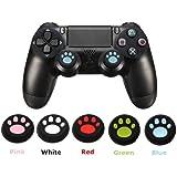 【kiki】(10個セット)kk-001 肉球 コントローラージョイスティック シリコンカバー PS3 / PS4 / Xbox 360 / Xbox One 用