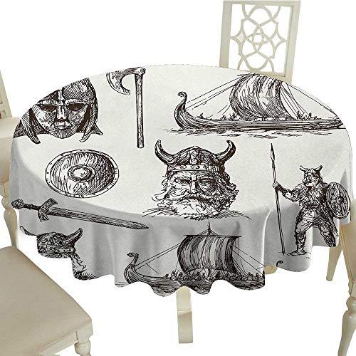 (Viking Circular Table Cover D 36