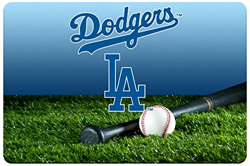 GameWear Los Angeles Dodgers Baseball Pet Bowl Mat, Large