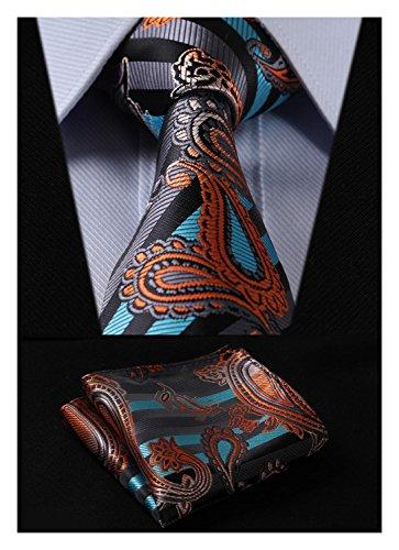 Silk Paisley Tie - 3
