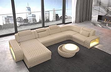 SOFA Dreams Cuero Conjunto de Muebles Para Salón Berlín ...