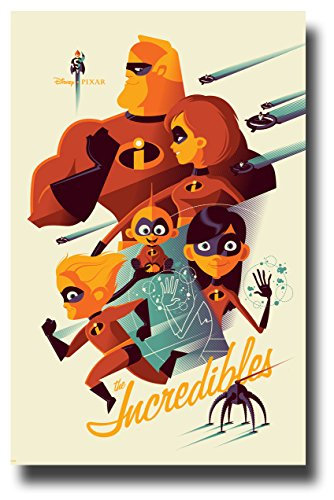 Incredibles 2 Poster Movie Promo 11 x 17 2018 Composite