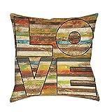 Best Thumbprintz Pillows - Thumbprintz Striped Love Indoor/ Outdoor Throw Pillow 18 Review
