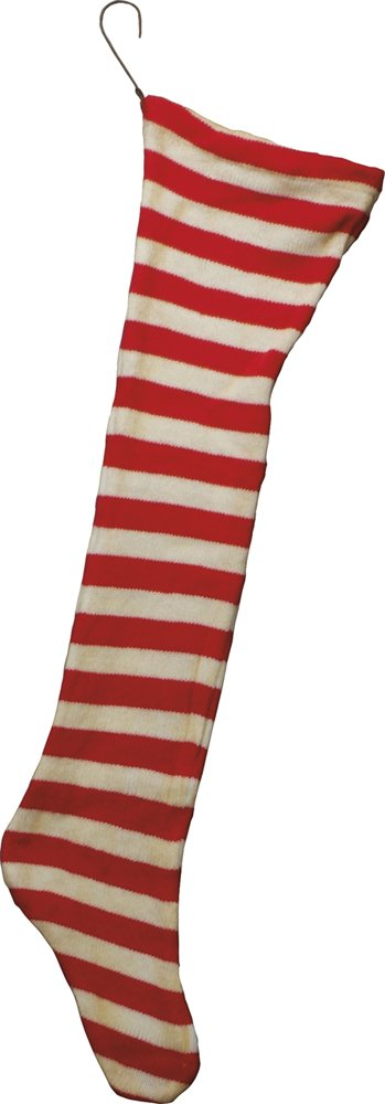 Jumbo Red & White Stocking, Set of 2