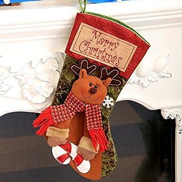 Weihnachtsstrumpf, CASEWIN Weihnachtsstrümpfe Socken für ...
