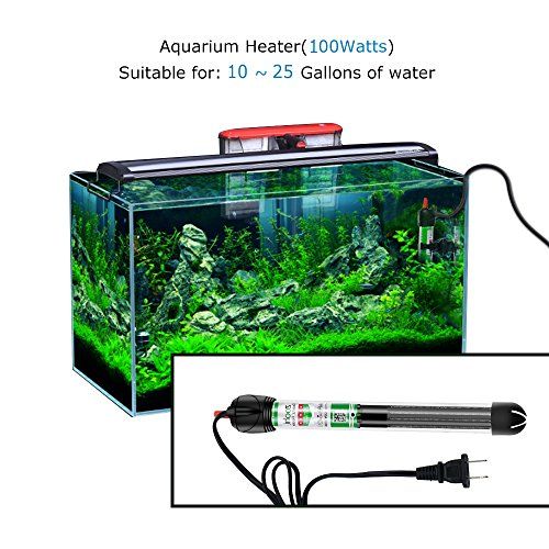 Zoohi Submersible Aquarium Heater 100w 300w Fish Tank