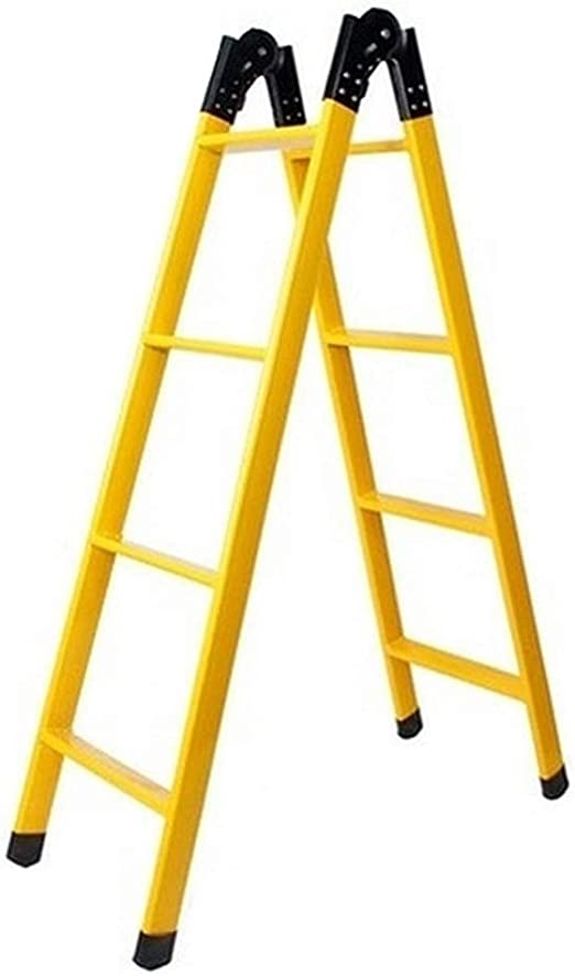 MMAXZ Escalera Plegable Escalera Recta, Escalera telescópica ...