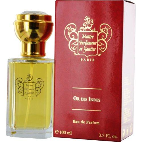 Maitre Parfumeur Et Gantier or Des Indes Eau de Parfum Spray, 3.3 Ounce
