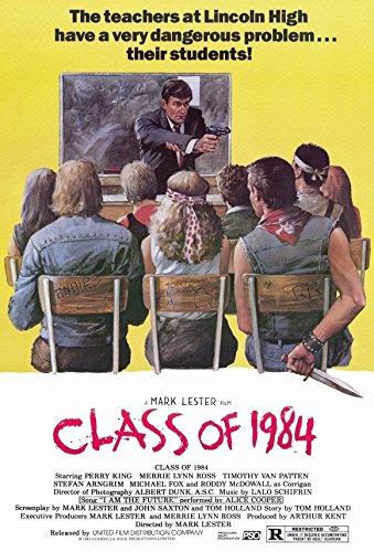 Amazoncom 11 X 17 Class Of 1984 Movie Poster Prints Posters Prints