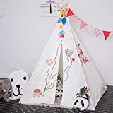 Fessyc@white High-end custom of children room decorate dollhouse small house tent indoor house home baby game play house indian teepee