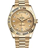 #6: Rolex Day-Date II 2 President Yellow Gold Watch 218238