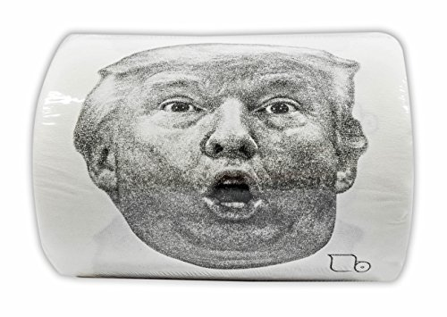 "Buttswipes DONALD TRUMP ""Happy Hanukkah"" Toilet Paper Funny Gag Gift Stocking Stuffer"