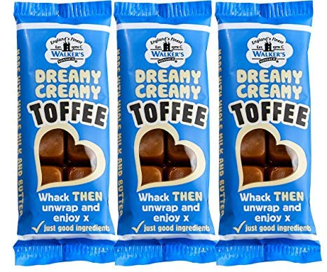 Walker's Nonsuch Dreamy Creamy Toffee Bars 50g
