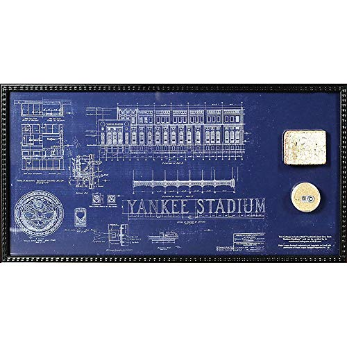 (Steiner Sports Yankee Stadium Blueprint 10