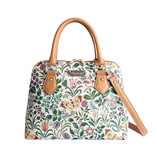 Signare Tapestry Ladies Handbag in a choice of patterns Spring Flower