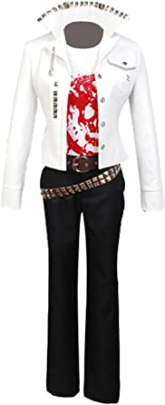 Ya-cos Leon Kuwata Cosplay Outfit Shirt Jacket Anime Ultimate Baseball Star  White Cosplay Costume Uniform Unisex: Clothing - Amazon.com