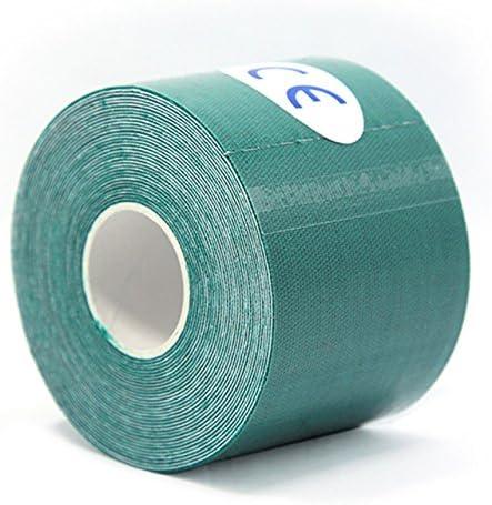 Desconocido Cinta Adhesiva elástica de algodón con protección contra Lesiones musculares para Primeros Auxilios y kinesiología, Color 18, Tape Length: Approx 5M/ 197 Inch: Amazon.es: Deportes y aire libre